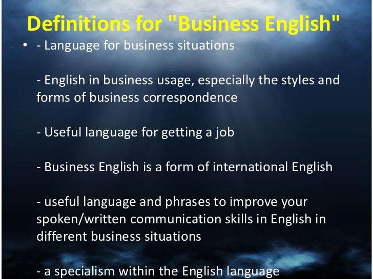 Importance of english language.
