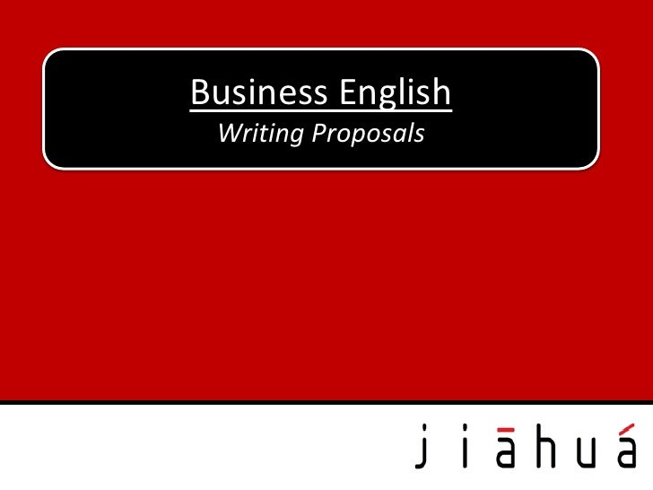 Business English Writing Proposals