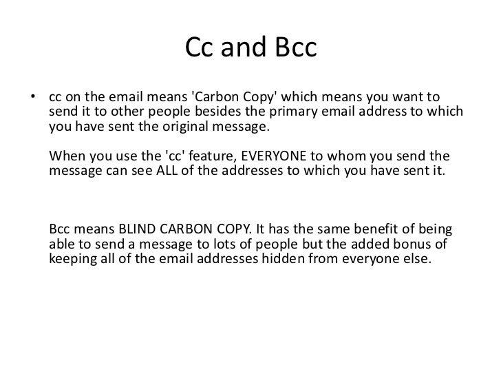How to send a cc letter timiznceptzmusic how altavistaventures Images