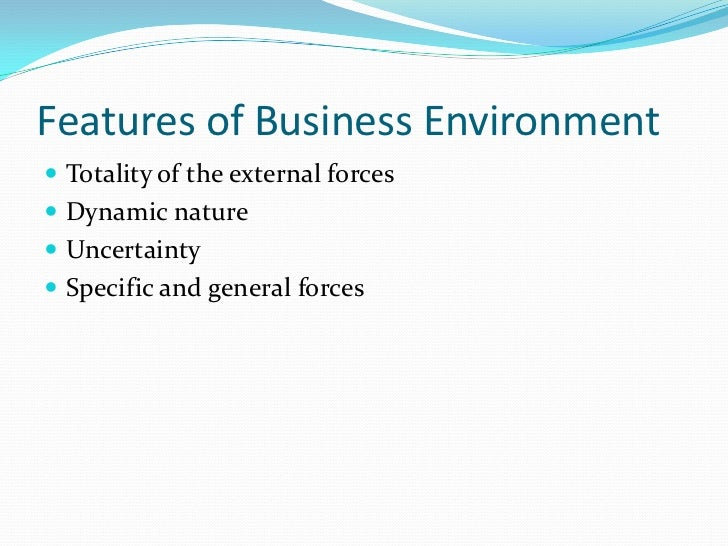 the business enviorment Free business environment papers, essays, and research papers.