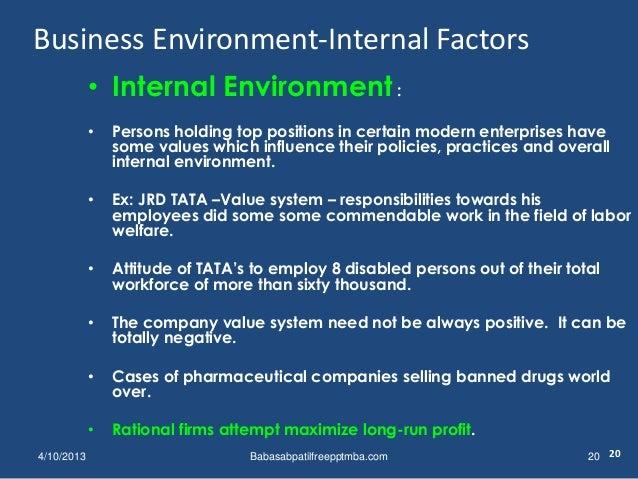 business environment 1 st module mba management