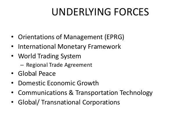 factors affecting global marketing ppt