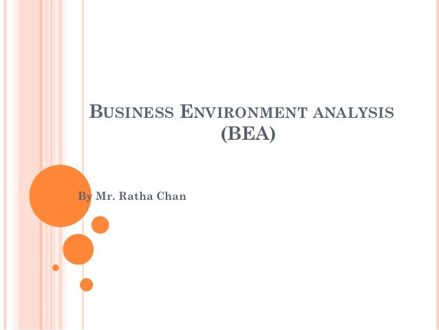 An analysis of the business environment in the philippines