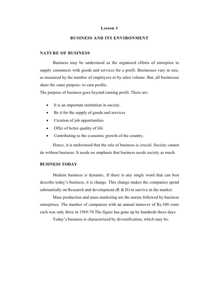 Business environment and_law