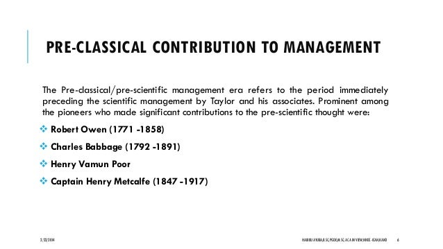 contribution of charles babbage to management thought Why charles babbage is regarded as the father of computer although he didn't complete his project  what were some of his contributions to management what is the.