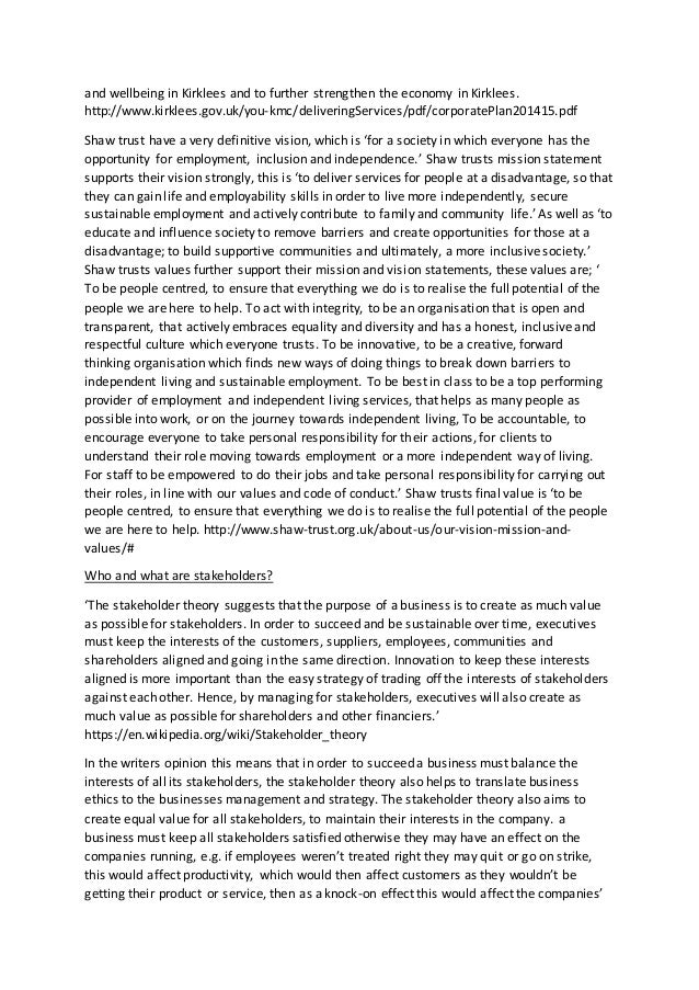 unit 1 business and the business environment assignment sample