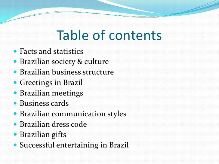 Business environment in brazil m4hsunfo
