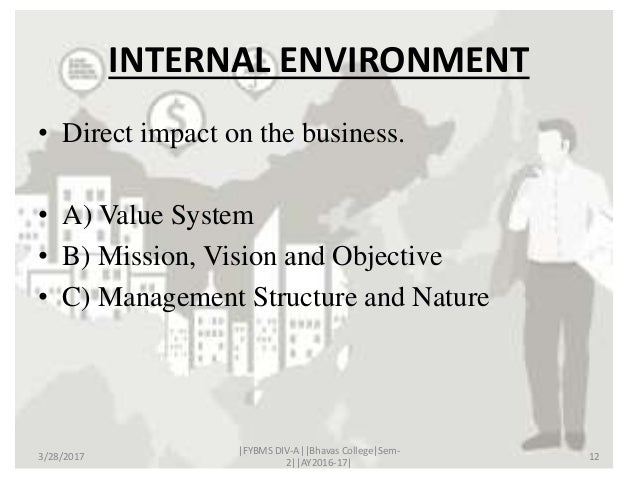 internal external factors of philips company There are five main factors, three internal and two external that can influence the value of a privately held company.