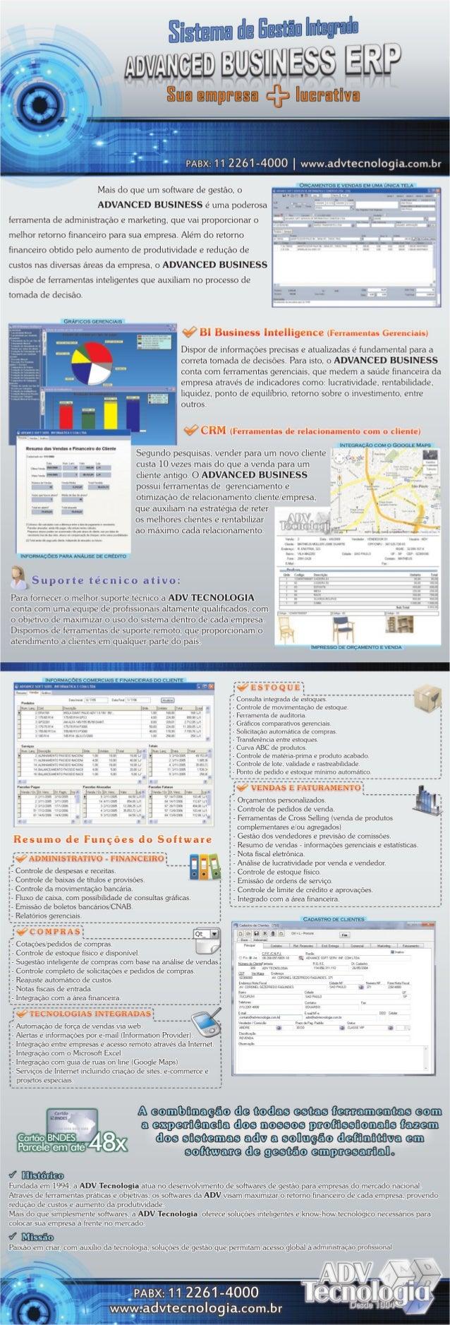 Sistema ERP de Gestão Empresarial