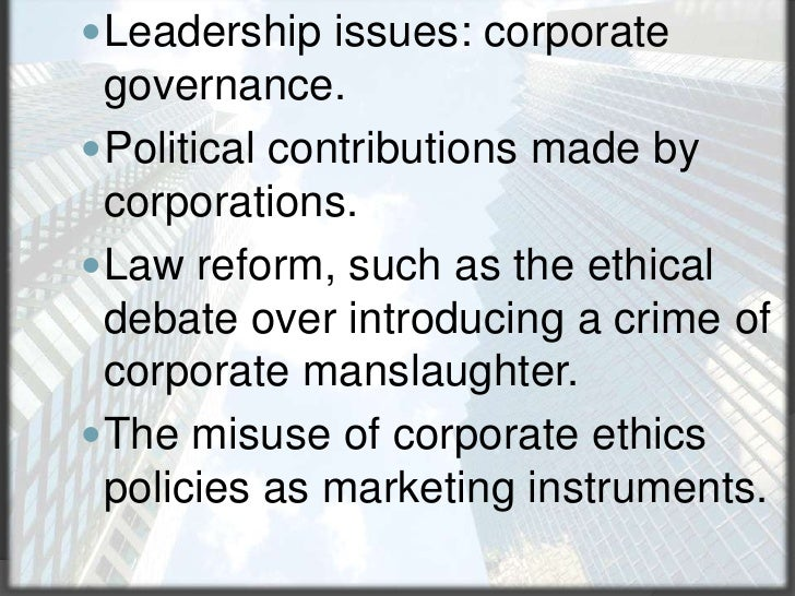 how to reform corporate ethics in Code of ethics for companies: good practices and resources code of ethics for companies: good practices and resources studies related to codes of corporate ethics.