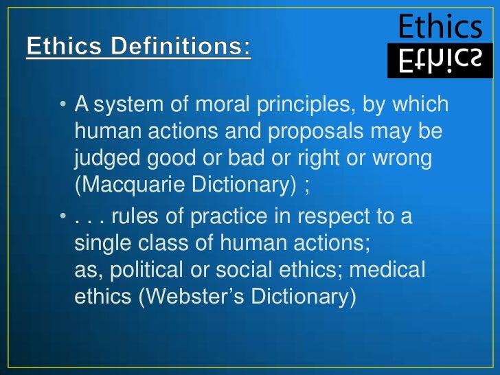 Business ethics Slide 3