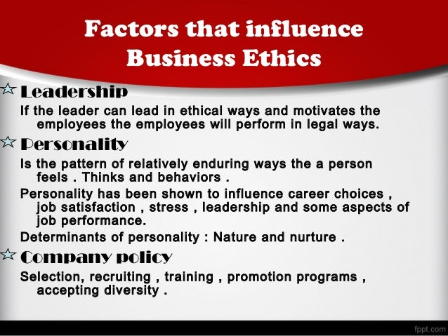 leadership stress affecting ethical decision making Ethical decision making in organizations: the role of leadership stress  summary of journal this journal tested the effects of leadership stress towards  ethical.