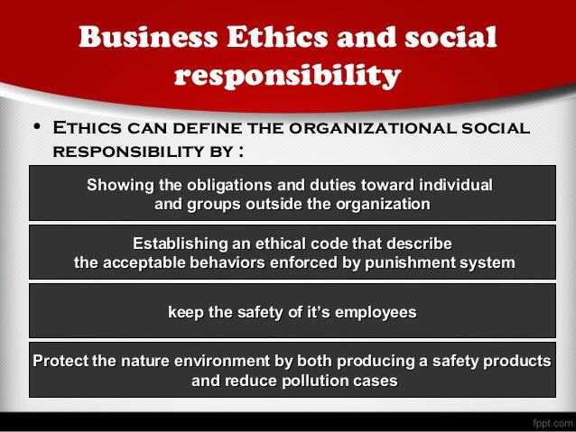 describe factors that influence business ethics Business ethics and social responsibility sections of this topic include about ethics, principles and moral values what is business ethics managing ethics in the.