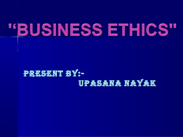 DEFINATION OF ETHICS Ethics deals with moral principles and social values. It helps us to classify, what is good and what ...