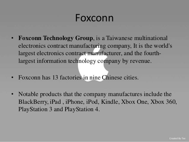 foxconn ethics In a statement given to mcv, sony said that foxconn complies with  in  complying with all applicable laws, work ethics, labour conditions, and.