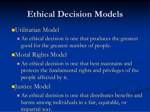 utilitarianism ethical theories and business