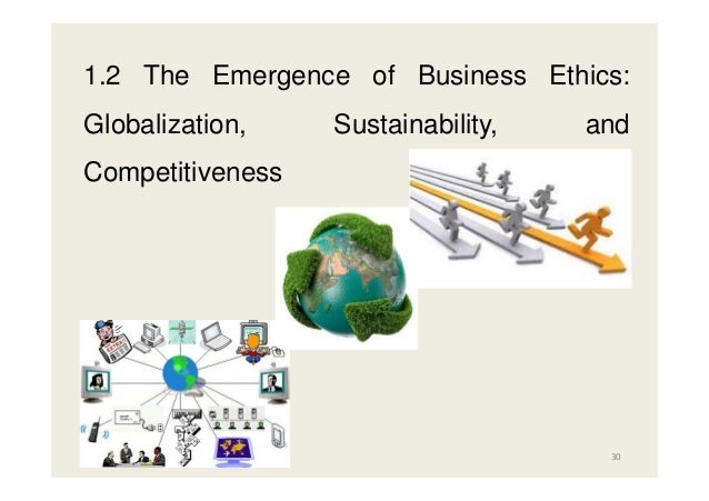 globalization of business ethics This article analyzes the advent of globalization and delineates its impact on the corporation and its social responsibilities it begins with an explanation of the concept of globalization next, it describes the traditional paradigm of corporate social responsibility (csr) where the responsibilities of businesses are discussed vis-à-vis a more or less properly working nation-state system and a homogeneous moral.