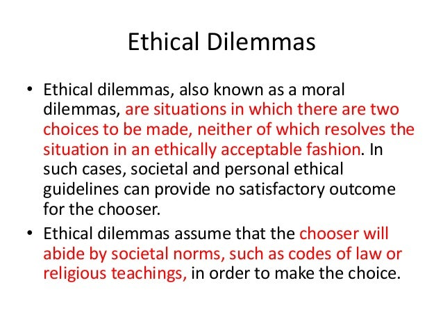 an analysis of the ethical dilemmas in business Are you asking what kinds of ethical dilemmas exist if so, there's no shortage of them for starters, there's the ignition switch recall plaguing the us the major questions are: who knew this could possibly happen when did this come up why d.