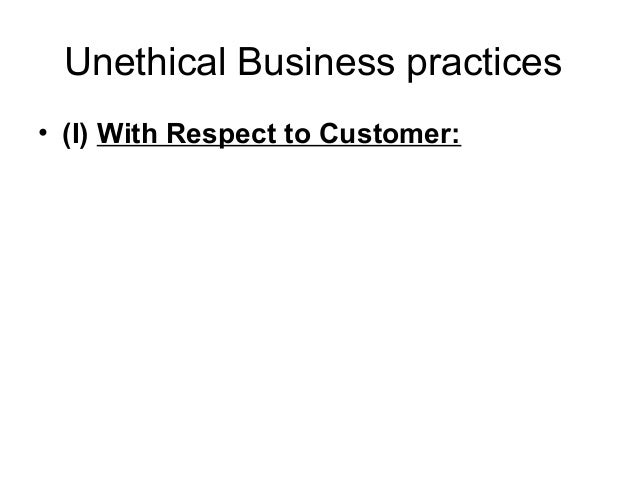 unethical business practice of bribery by shell The shell ethics & compliance office, including the chief ethics & compliance officer, programme and operational business support teams, assists the businesses and functions in abc programme.