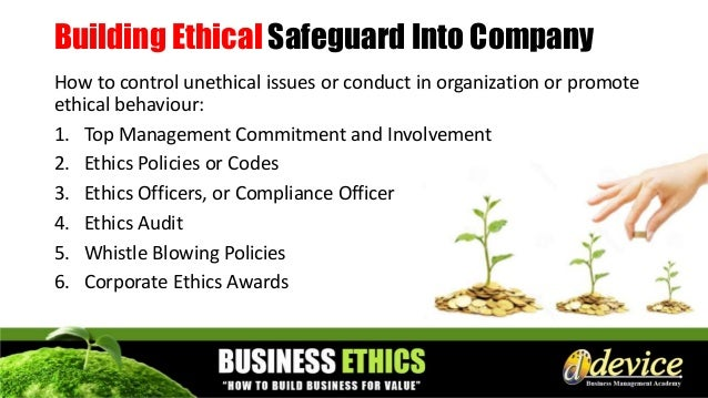 Bfbm 9 2016 business ethics business value - Ethics and compliance officer association ...