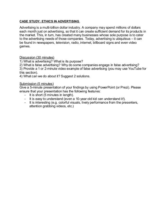 business ethics case study - questions & answers pdf