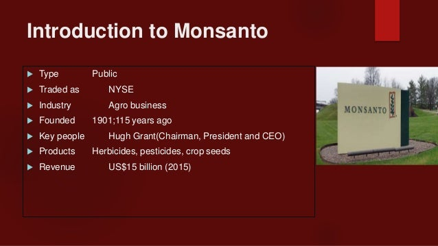 Case Study: Monsanto Attempts to Balance Stakeholder Interests