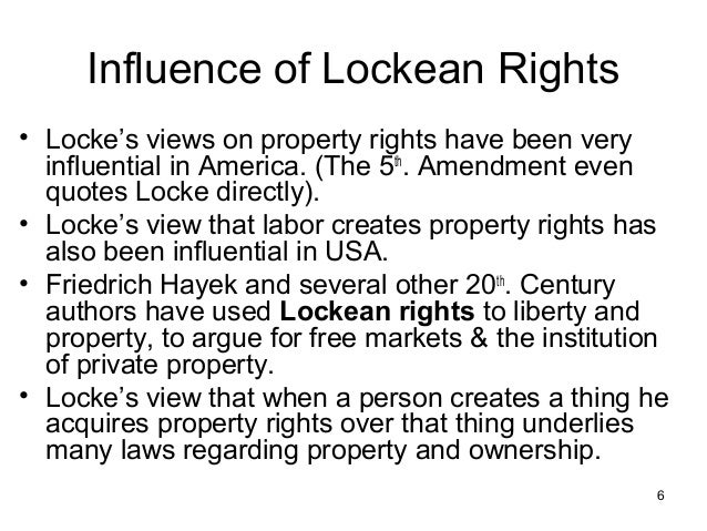 Locke S View The State Of Nature Was