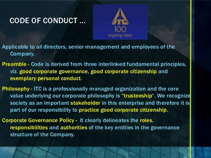 business ethics and corporate governance in Corporate governance refers to the rules and policies that determine how a  company is controlled on the face of it, what does it have to do with.