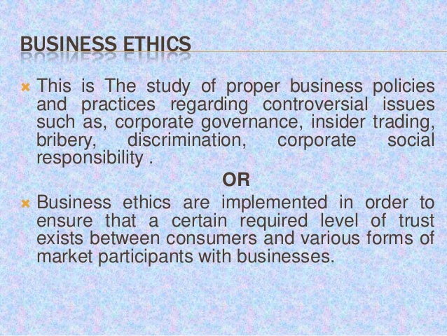 ethics governance The impact of multilevel governance on the frequency of ethical issues in temporary organizations (tos) is investigated a structural equation model, based on a global survey, showed that.