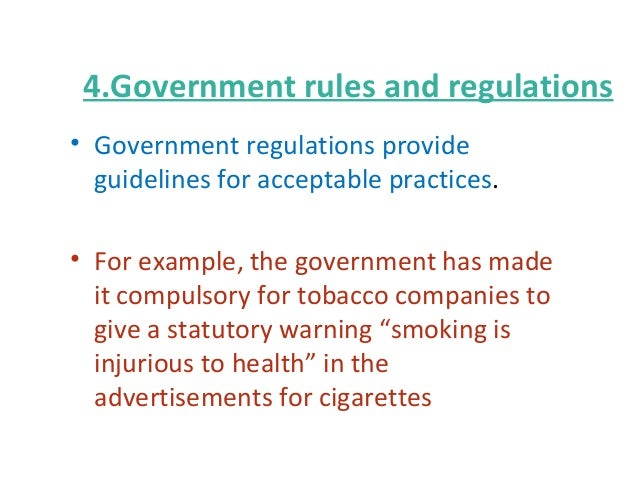 The ethics of the tobacco industry