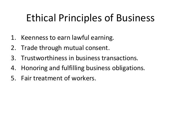 principles of business ethics pdf