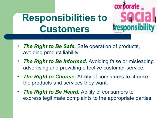 Business ethics & social resposibility