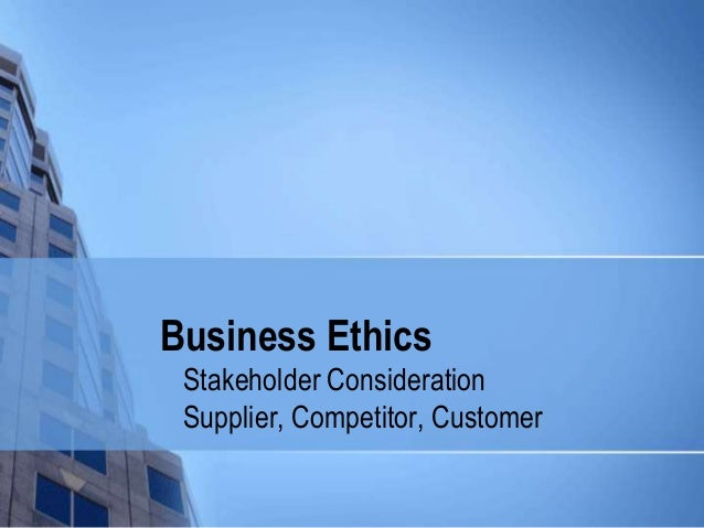 Casa ethical business considerations