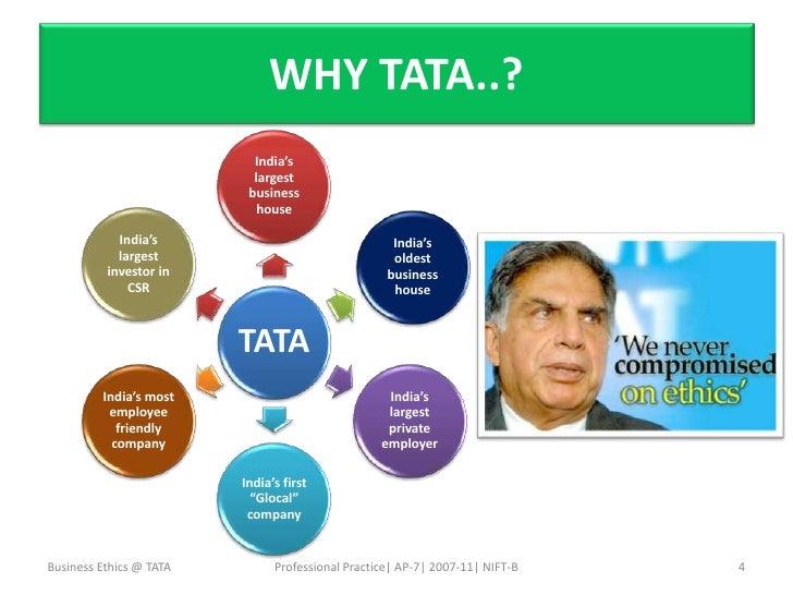 Business Ethics Tata