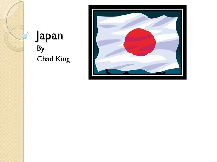 Japan By Chad King