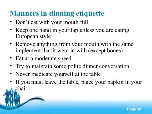 Business etiquette : business etiquette 28 638 from www.slideshare.net size 638 x 479 jpeg 76kB