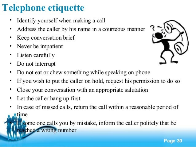 business etiquette   telephone etiquette