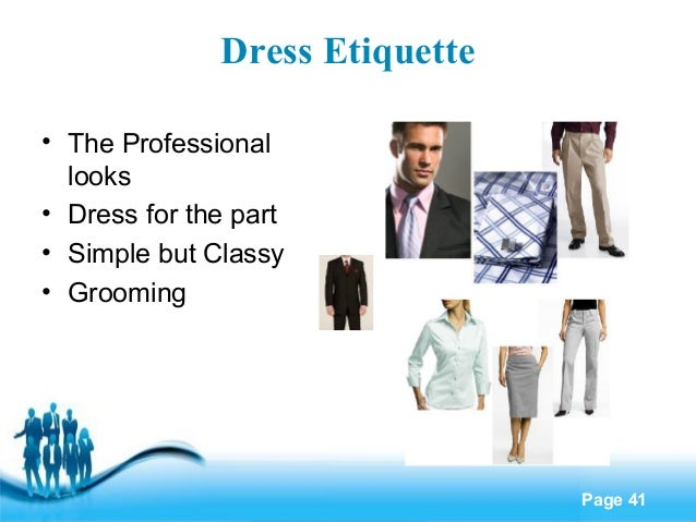 Importance of workplace dress code