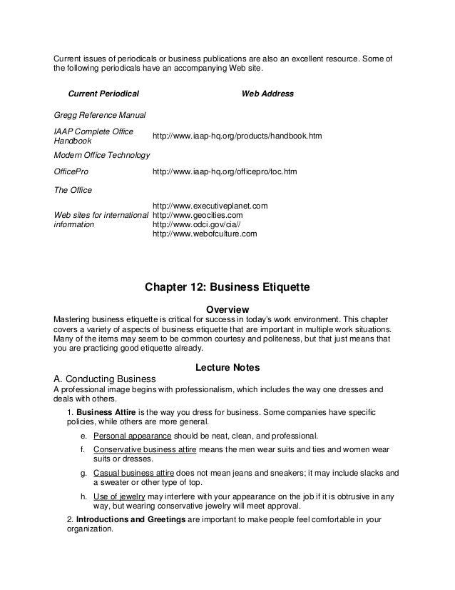 business etiquette essay this essay is about what is business ...