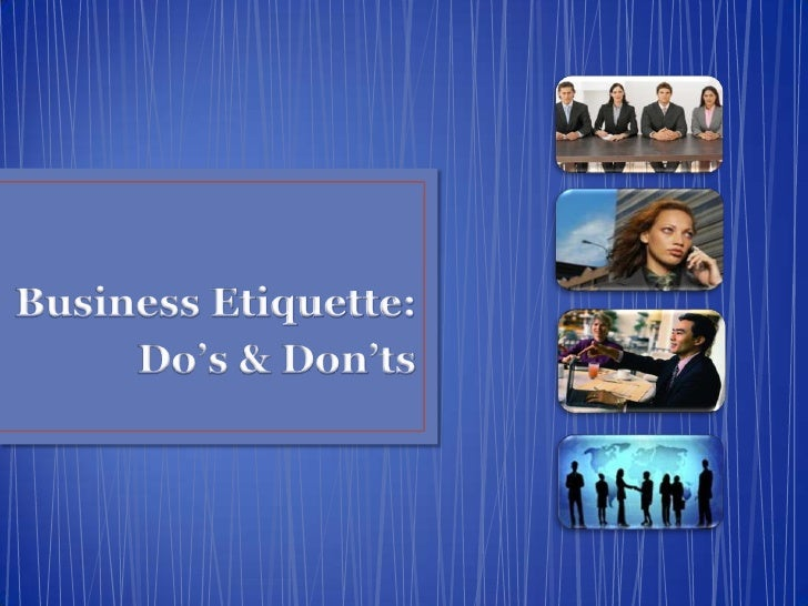 """""""Whenever two people come together andtheir behavior affects one another, youhave etiquette. Etiquette is not some rigidco..."""