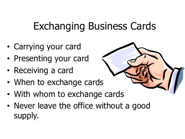 Business card etiquette in other countries image collections card business etiquette other countries handshake 14 exchanging business cards reheart image collections reheart Images