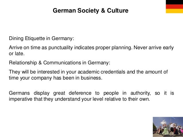 Business etiquette other countries german society culture dining etiquette m4hsunfo