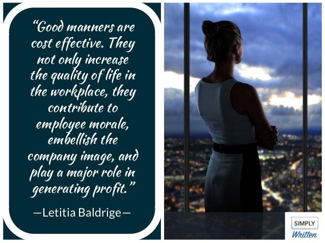Business Etiquette Quotes To Inspire