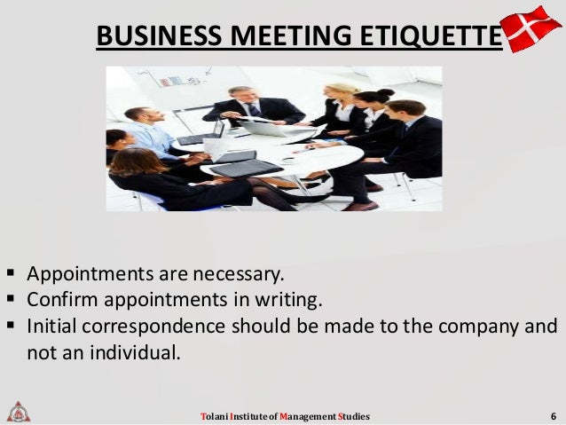 Business ettiquetes in denmark tolani institute of management studies 6 8 reheart Choice Image