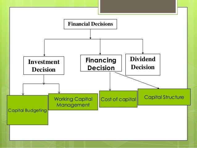 corporate governance on the capital investment decision The impact of corporate governance practices on the investment decisions of companies by paul cole-ingait corporate governance synchronizes stakeholder roles and responsibilities.