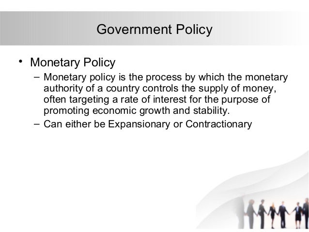 bsp money supply policy The supply of money – bank behaviour and the implications for monetary analysis 64 ecb multiplier analysis of the effect of monetary policy on money supply.