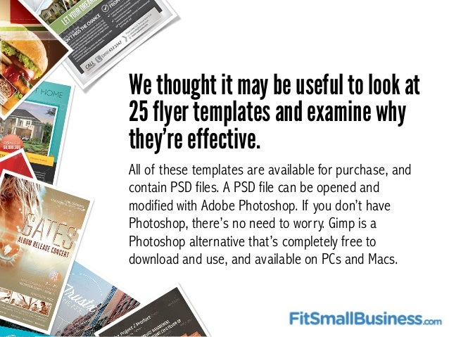 Top 25 flyer templates for small businesses 4 flashek Choice Image
