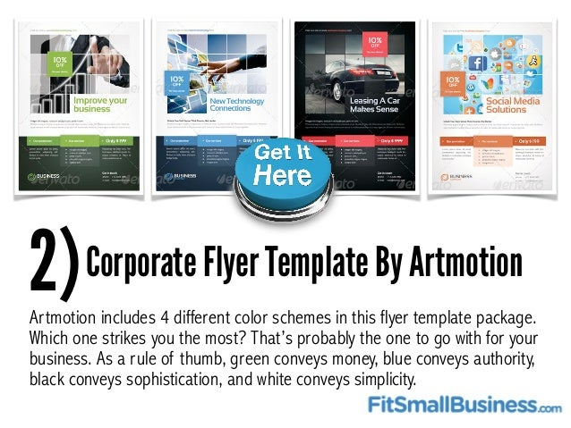Top  Flyer Templates For Small Businesses
