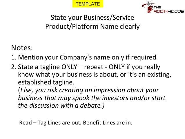 company write up sample