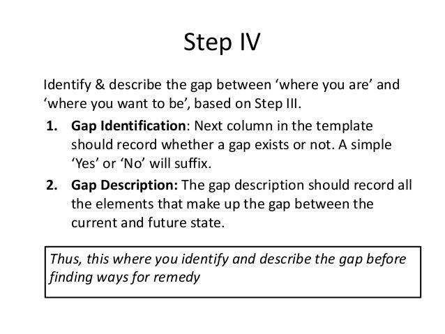 Business gap analysis pdf 12 accmission Choice Image